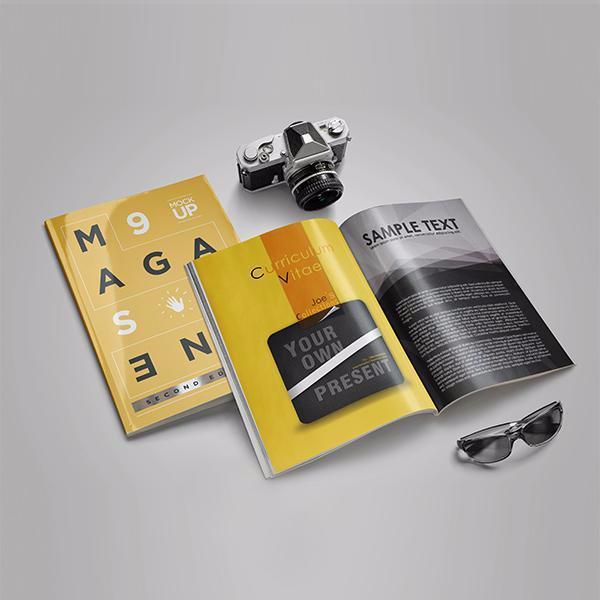A4企业画册/产品宣传册/杂志期刊